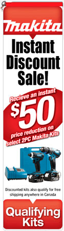 Makita Instant Discount Sale